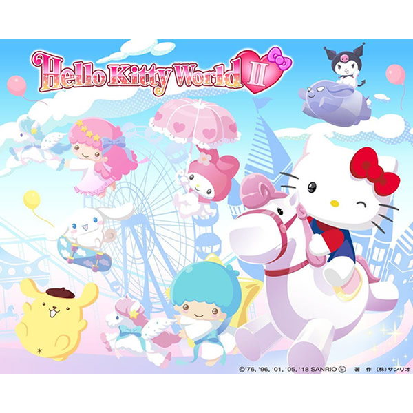 ゲーム「Hello Kitty World 2」(2018年)